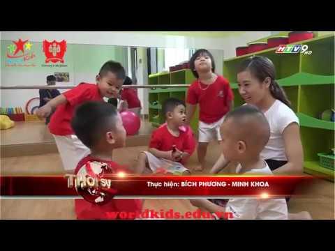 Khánh thành trường mầm non quốc tế Worldkids tại Gò Vấp – HTV