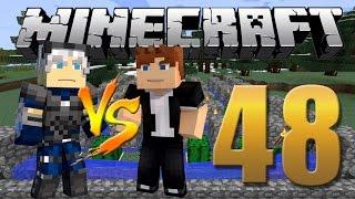 Napoleon vs Davi / Farm de Cactos - Minecraft Em busca da casa automática #48
