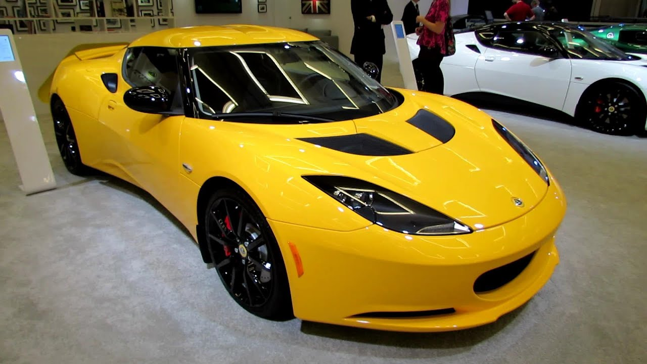 2014 Lotus Evora S - Exterior and Interior Walkaround - 2013 LA Auto ...