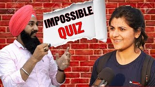 FUNNY IQ TEST | 2019 |  IMPOSSIBLE QUIZ | BY - Mehak