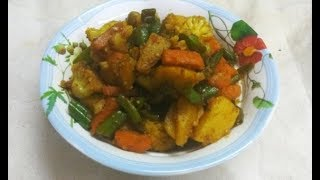 Instant Dhaba-Style Mix Veg: No Deep Frying Required