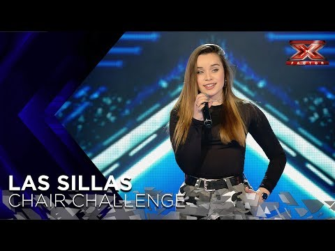 She's just 16 but she nails Andra Day's Rise Up | Chair Challenge 1 | The X Factor 2018