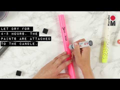 DIY: How to design candles