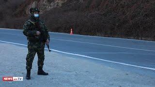 Ինչպես է հսկվում Գորիս-Կապան ավտոճանապարհը. ՊՆ-ի տեսանյութը
