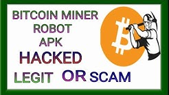 REVIEW OF BITCOIN MINER ROBOT apk