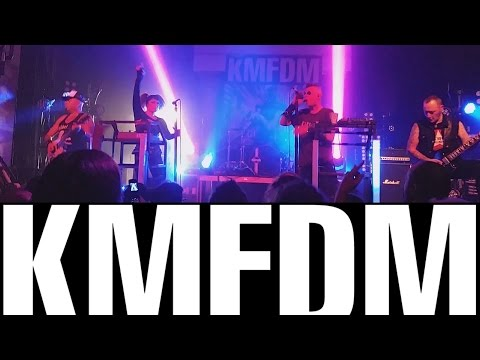 KMFDM Megalomaniac   Pittsburgh; Salvation Tour 2015