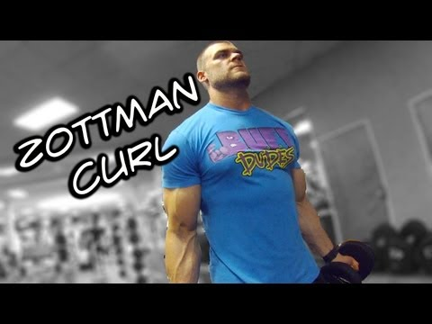 How to Perform Zottman Curl - Killer Arm Exercise