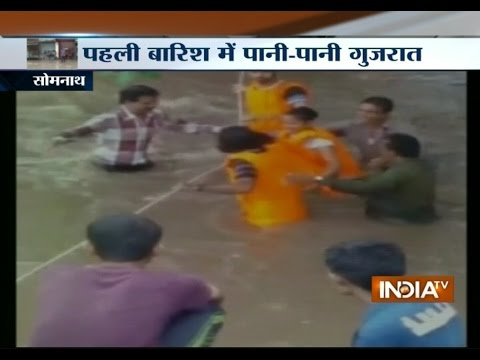 Heavy rain derails normal life in Gujarat | India Tv