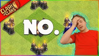 JUST BE COOL. ▶️ Clash of Clans ◀️ DON'T DO THIS.