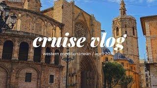 MSC Divina Western Mediterranean Cruise & Rome, Italy Vlog / April 2018