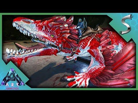 VALENTINES ROCK DRAKE! STEALING ROCK DRAKE EGGS! - Ark: Aberration [DLC Gameplay E54]