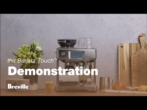 The Barista Touch | How to make third wave specialty lattes with touchscreen control | Breville USA