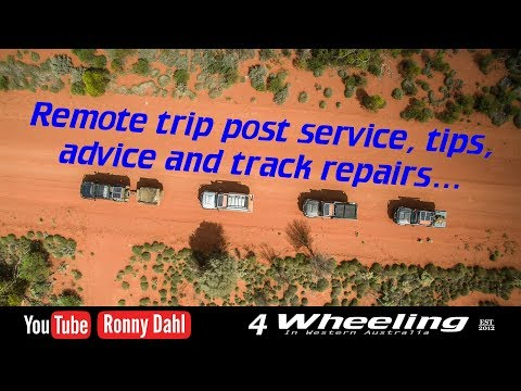 4 Wheel remote trip service tips and bush fixes