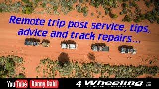 4 Wheel remote trip service tips and bush fixes