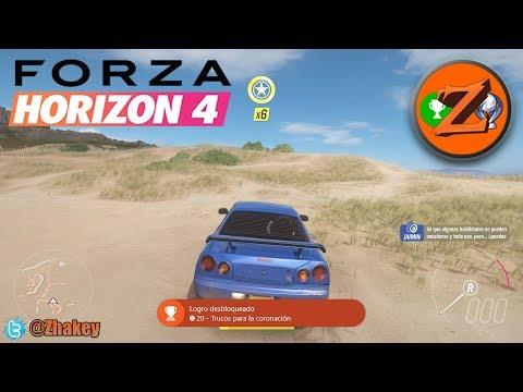 Forza Horizon 4: Logro Trucos de coronación / Trucos para la coronación