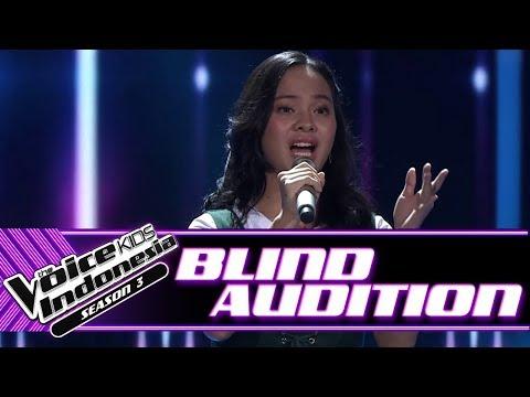 Glorivay - Pemeran Utama | Blind Auditions | The Voice Kids Indonesia Season 3 GTV 2018