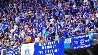 Everton F.C Best Chants & Songs with LYRICS on screen!