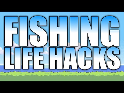 Terraria Life Hacks - Fishing Edition (PC, CONSOLE, MOBILE, 3DS) Top 5 Tips and Tricks