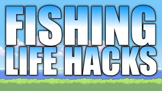 Terraria Life Hacks - Fisнing Edition (PC, CONSOLE, MOBILE, 3DS) Top 5 Tips and Tricks
