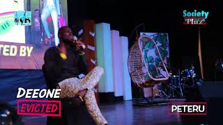 ONE OF NIGERIA'S TOP COMEDIAN PETERU PERFORMS AT DEEONE SOLD OUT COMEDY SHOW