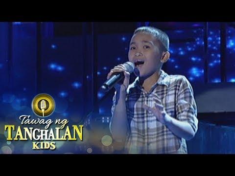 Tawag ng Tanghalan Kids: Ricky Tumpong Jr. | Munting Pangarap