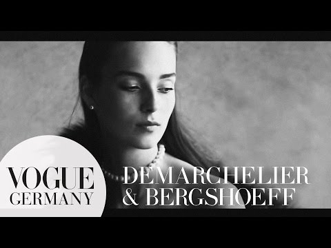 Patrick Demarchelier fotografiert Julia Bergshoeff – Foto Shoot | VOGUE Behind the Scenes