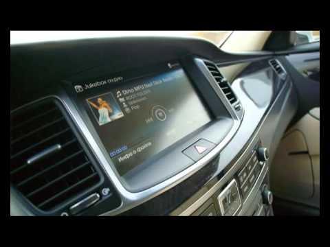 Тест драйв Hyundai Equus.2015 про.Движение Хёндэ