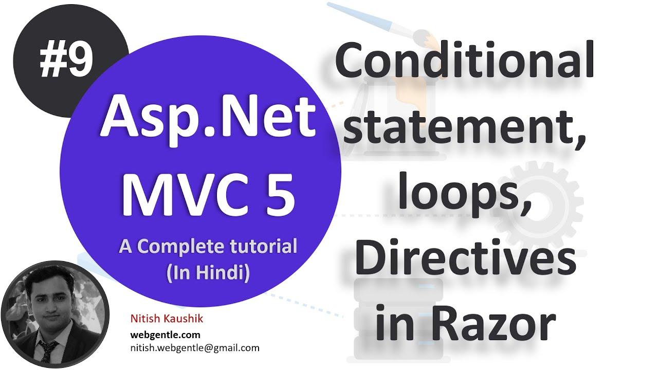 asp.net mvc razor tutorial pdf