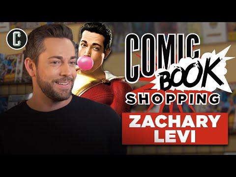 Shazam Star Zachary Levi Goes Comic Book Shopping