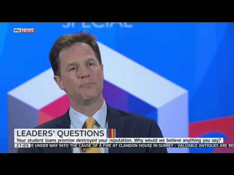 Does Nick Clegg regret going coalition with the Tories?