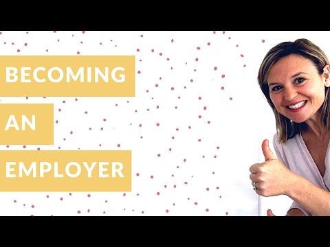 Becoming An Employer