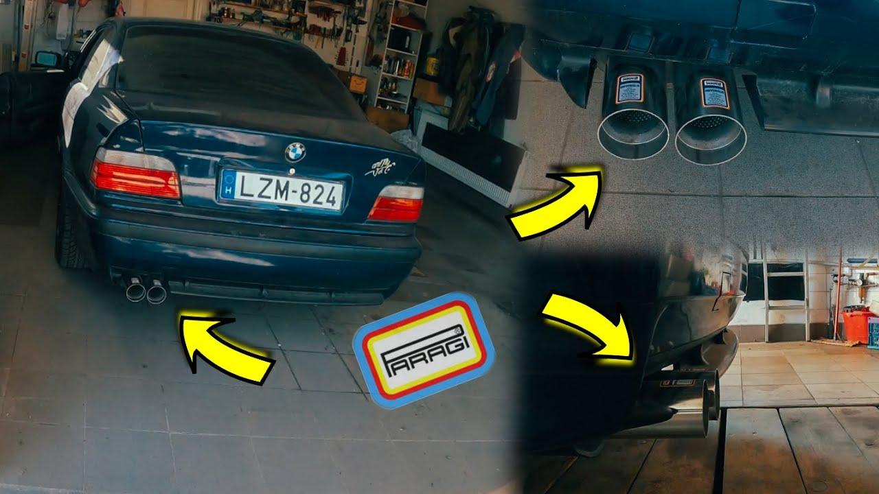 SOUNDCHECK 🔊 Paragi kipufogó 🚗 a BMW #eharmincHAT-on