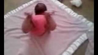 baby savannahs first handstand