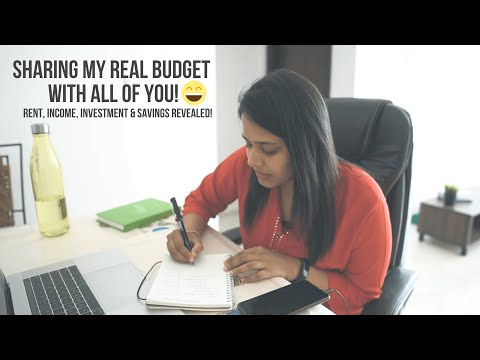 Sharing My Real Budget With REAL Numbers! Rent, Income, Savings And Investments Revealed! :)