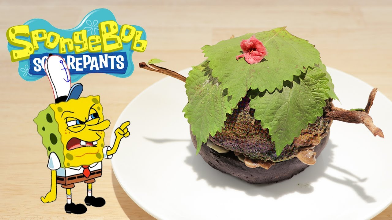 Spongebob Squarepants-Nature Patty 海綿寶寶 自然蟹堡【RICO】二次元食物具現化EP-271