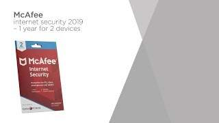 Mcafee Internet Security 2019 - 1 year for 2 devices | Product Overview | Currys PC World