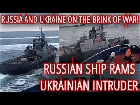 BREAKING: Russia's Coast Guard Stops Foreign Vessel In Russian Territorial Waters
