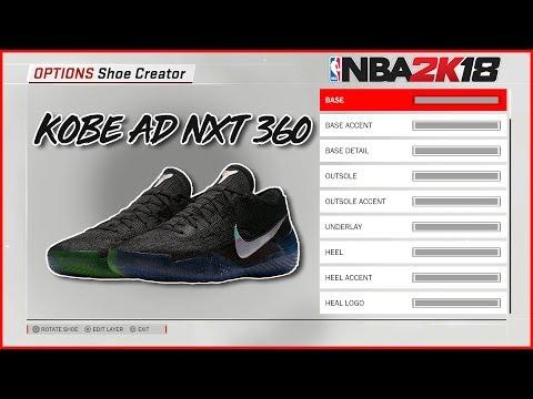 nba-2k18-shoe-creator- -kobe-ad-nxt-360-mamba-day