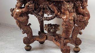 Уникальная старинная мебель(, 2015-07-21T12:29:19.000Z)