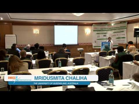 Mridusmita Chaliha | Australia | Food Safety 2015 | Conference Series LLC