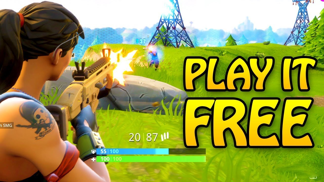 What Is Fortnite Battle Royale Play It Free Now Youtube