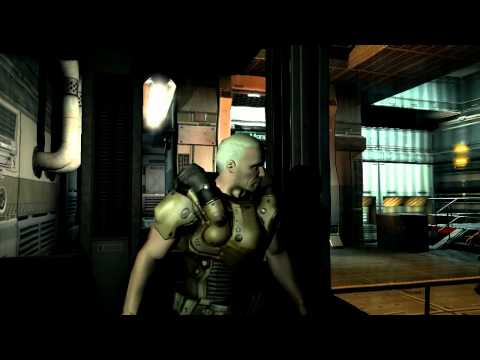 First 10 Minutes - Doom 3 - Gameplay - Commentary - Start of Game |