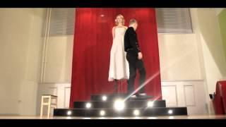 Шоу на свадьбу. Левитация невесты