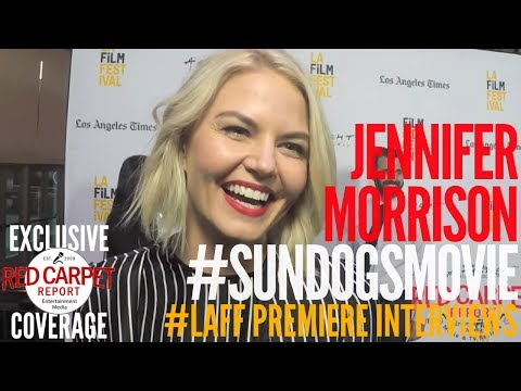 Jennifer Morrison interviewed at Premiere of Sun Dogs at Los Angeles Film Festival #sundogsmovie