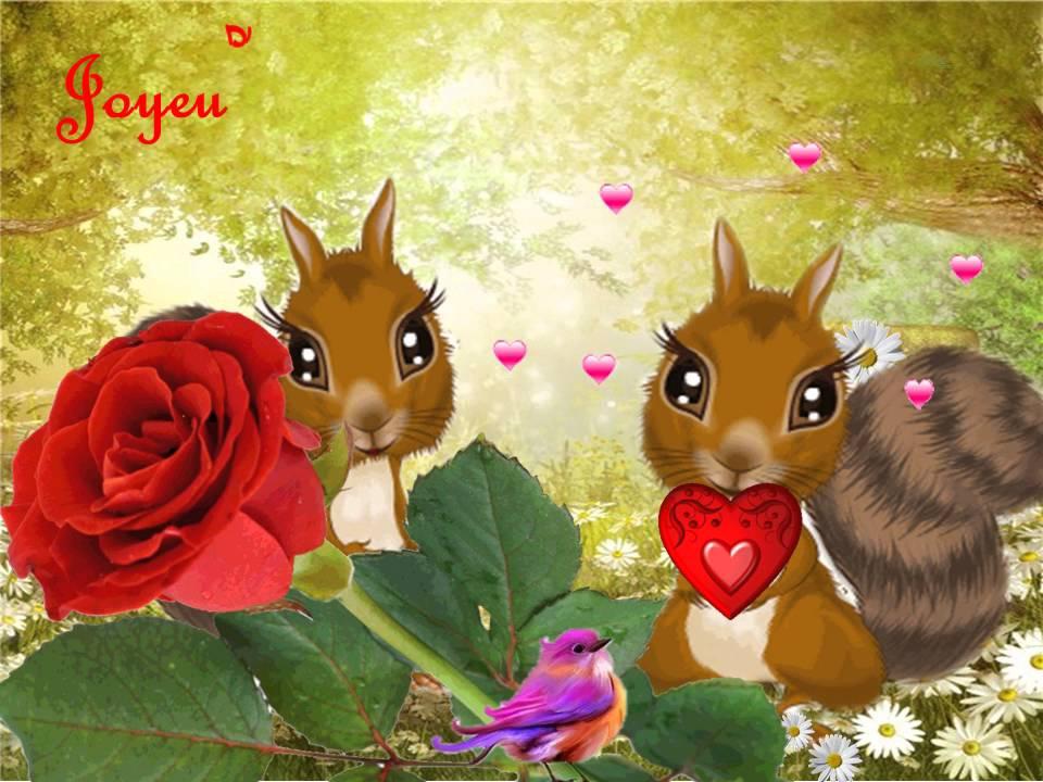 Carte Animee Amour Valentin Cartes Virtuelles 675 Youtube