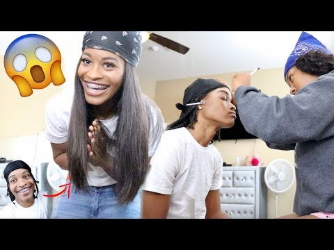 TRANSFORMING MY GIRLFRIEND INTO ME!!