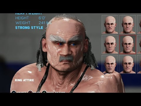 nL Live - WWE 2K18 MyPlayer - The Creation of Old Man Jenkins