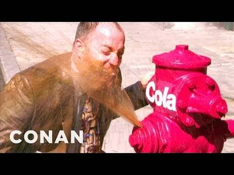 New Yorkers Celebrate Overturning The Soda Ban - CONAN on TBS