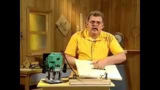 Работа с ручным фрезером Урок 1
