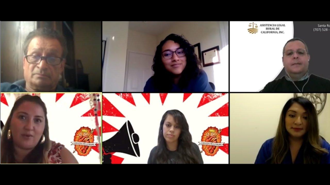 Conversación Comunitaria: COVID-19 y el impacto en la comunidad latinx